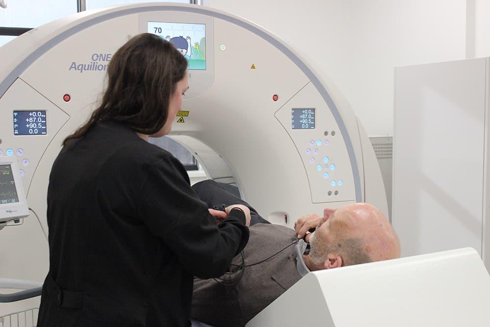 Aquilion ONE Cardiac CT Scanner
