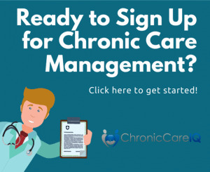 Ad - Click here to sign up for chronic care management
